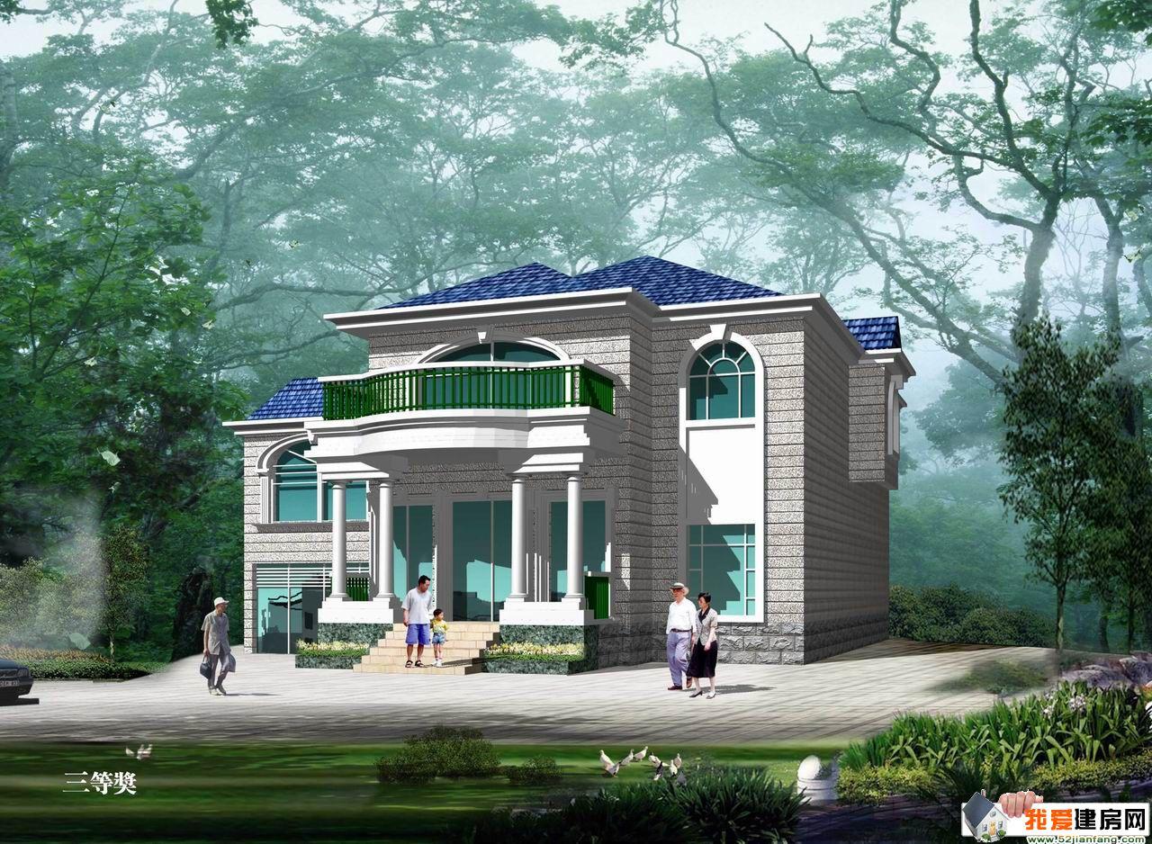 欧式新农村小别墅设计图