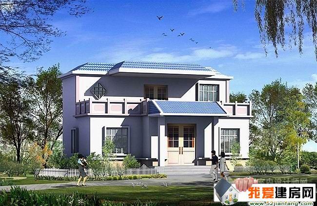 新农村二层平顶房屋设计图效果图
